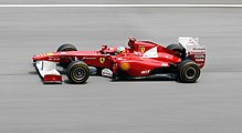 Photo de Fernando Alonso sur Ferrari 150° Italia au Grand Prix de Malaisie 2011