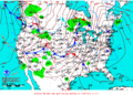2012-01-16 Surface Weather Map NOAA.png