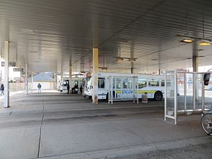 Chicago Heights, Illinois - Pace Chicago Heights bus terminal