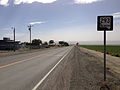 2014-06-12 16 19 40 First reasssurance sign along westbound Nevada State Route 293 (Kings River Road) in Orovada, Nevada.JPG