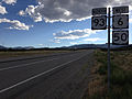 2014-08-09 17 37 15 View west along U.S. Routes 6 and 50 and north along U.S. Route 93 about 64.1 miles east of the Nye County line near Majors Place, Nevada.JPG