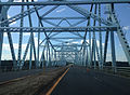 2014-08-28 14 21 16 View west crossing the Castleton Bridge over the Hudson River.JPG