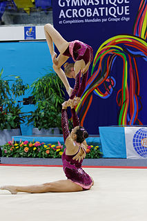 2014 Acrobatic Gymnastics World Championships – Womens pairs qualification