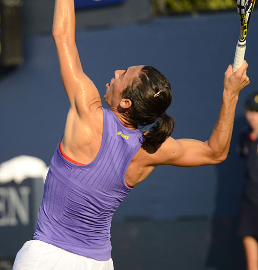 2014 US Open (Tennis) - Tournament - Francesca Schiavone (14927483438)