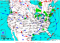 2015-10-13 Surface Weather Map NOAA.png