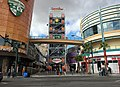 2015-11-04 11 29 30 View northwest along Fremont Street at the southeast end of the Fremont Street Experience in downtown Las Vegas, Nevada.jpg