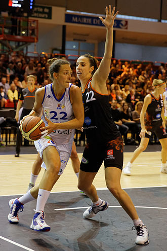 Ines Ajanović - Image: 20150502 Lattes Montpellier vs Bourges 055