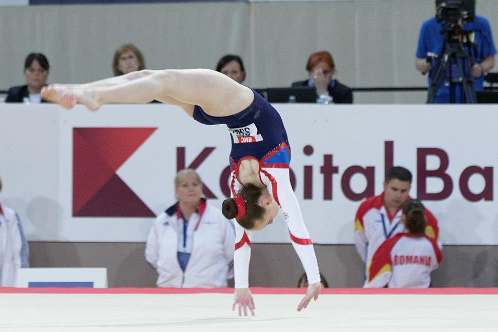 2015 European Artistic Gymnastics Championships - Floor - Amy Tinkler 07