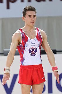David Belyavskiy Russian artistic gymnast
