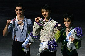2015–16 Grand Prix of Figure Skating Final - Men's singles medal ceremonies