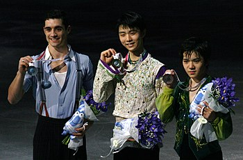 2015 Grand Prix of Figure Skating Final men's singles medal ceremonies IMG 9483.JPG