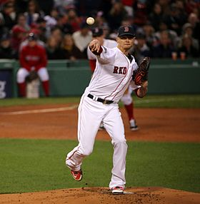 2016-10-10 Clay Buchholz Game 3 of ALDS 02.jpg