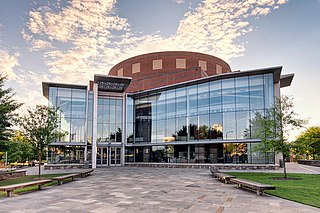 Peace Center performing arts center in Greenville, South Carolina
