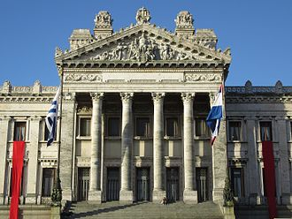 General Assembly of Uruguay - Image: 2016 en Montevido avenida de Las Leyes, Palacio Legislativo. Uruguay