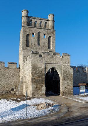 Szydłów - The Kraków Gate in Szydłów