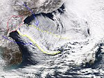 2018-01-23 Sea of Japan cold wave convergence zone by Aqua.jpg