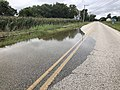 2018-09-10 13 54 01 Tidal flooding along northbound Salem County Route 623 (Canton Road-Main Street) just north of Stow Creek in Lower Alloways Creek Township, Salem County, New Jersey.jpg
