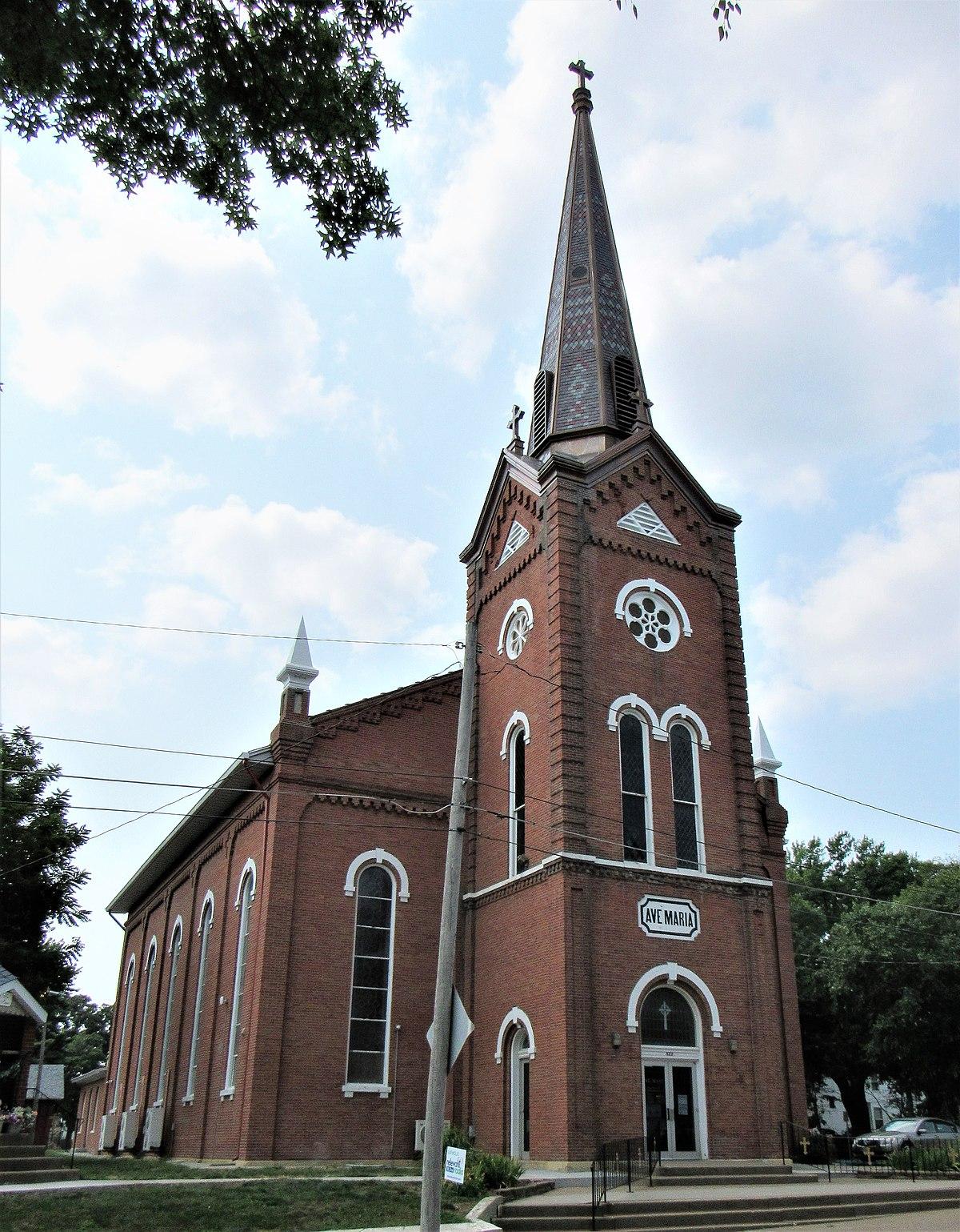 st  mary u0026 39 s catholic church  davenport  iowa
