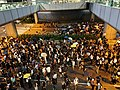 2019-10-04 Central Protest (Evening) on Connaught Road Central near IFC1 (2).jpg