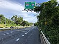 2020-06-20 18 25 14 View south along Maryland State Route 2 (Governor Ritchie Highway) at the exit for Interstate 695 WEST (TO Interstate 97 SOUTH, Towson) in Brooklyn Park, Anne Arundel County, Maryland.jpg