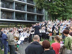 Gebr. Alexander - 225 horn players during the world premiere on 1 September 2007