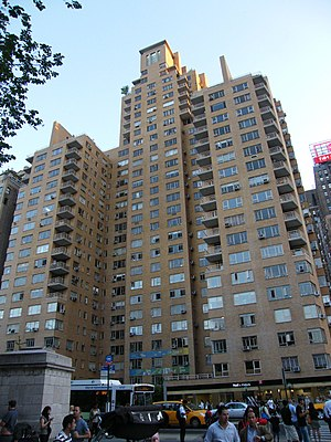 National Register of Historic Places listings in Manhattan from 14th to 59th Streets - Image: 240 cpw