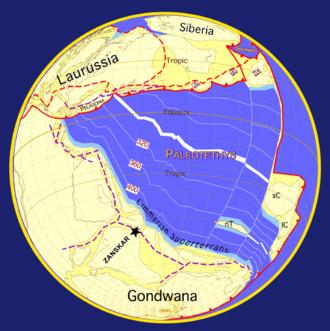 Geology of the Himalaya - Image: 290 global