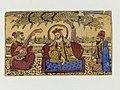 2 Guru Nanak paper color drawing, with Mardana and Bala, about 1875 CE.jpg