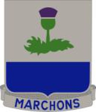 85th Infantry Division (United States) - Image: 338th Regiment Distinctive Unit Insignia