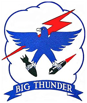 RAF Bruntingthorpe - Emblem of the 3912th Air Base Squadron