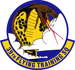 39th Flying Training Squadron - 39th Flying Training Squadron Patch