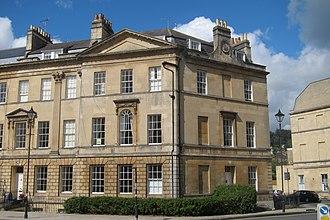Great Pulteney Street - Image: 40, Great Pulteney Street, Bath