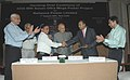 4000 MW Sasan Ultra Mega Power Project handing over to Reliance Power Ltd. in the presence of the Union Power Minister, Shri Sushil Kumar Shinde, in New Delhi on August 07, 2007.jpg