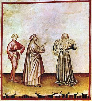 Rage (emotion) - Rage, Tacuinum Sanitatis casanatensis (14th century).