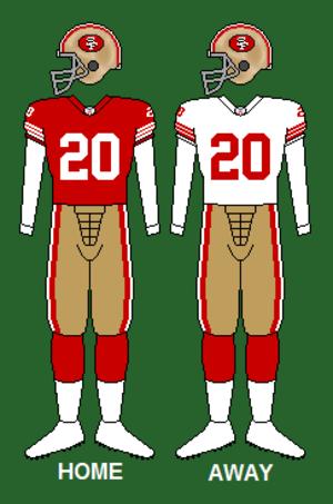 1993 San Francisco 49ers season - Image: 49ers 91 95