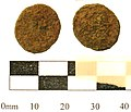 5. Roman copper alloy coin; barbarous radiate, c.275-85AD. (FindID 236667).jpg