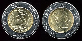 currency of the Vatican City between 1929 and 2002