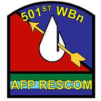 501st (NIA) Water Battalion (Reserve) Unit Seal