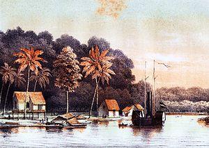 Banjarmasin War - The Onrust in Lalutung Tuor.