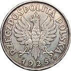 5 złotych 1925 Konstytucja 81 awers.jpg