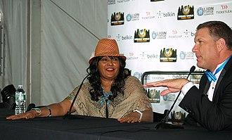 Pam Grier - Image: 6.28.13Pam Grier By Luigi Novi 14