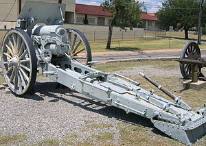 6-inch howitzer M1908 - M1908 at the U.S. Army Field Artillery Museum, Ft. Sill, OK