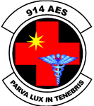 914 Aeromedical Evacuation Sq emblem.png