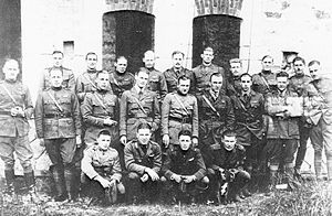 1st Operations Group - Men of the 94th Aero Squadron, Rembercourt Aerodrome, France