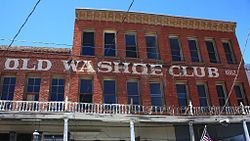 A483, Virginia City, Nevada, USA, Old Washoe Club, 2016.jpg