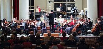 Alvarez Chamber Orchestra - The ACO performing in St John's, Smith Square, November 2008