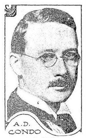 A.D. Condo - A.D. Condo, circa 1917.