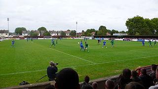Kingsmeadow football stadium
