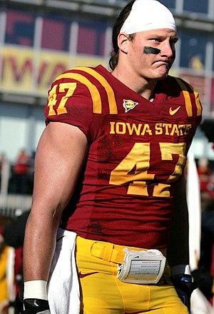A. J. Klein - Klein at Iowa State in 2012