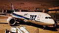ALL NIPPON AIRWAYS FLIGHT NH204 JA805A BOEING 787-800 DREAMLINER FROM FRANKFURT AM MAIN TO TOKYO HANEDA JAPAN JUNE 2012 (7412952424).jpg